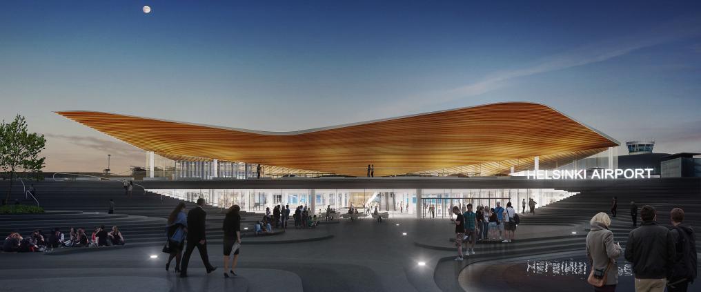 Projektikohde: Helsinki Airport